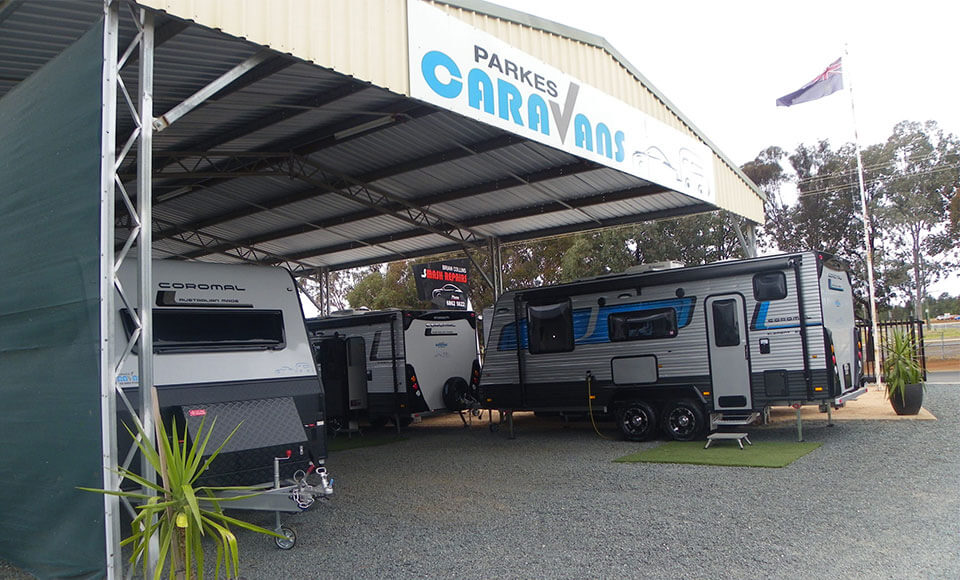 Parkes Caravans dealership in Parkes
